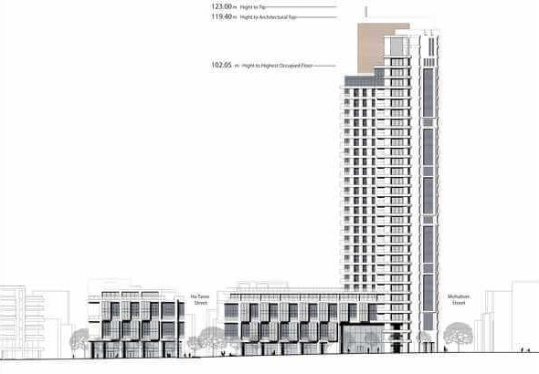 drawing 08_Elkhanan Boulevard Elevation-1