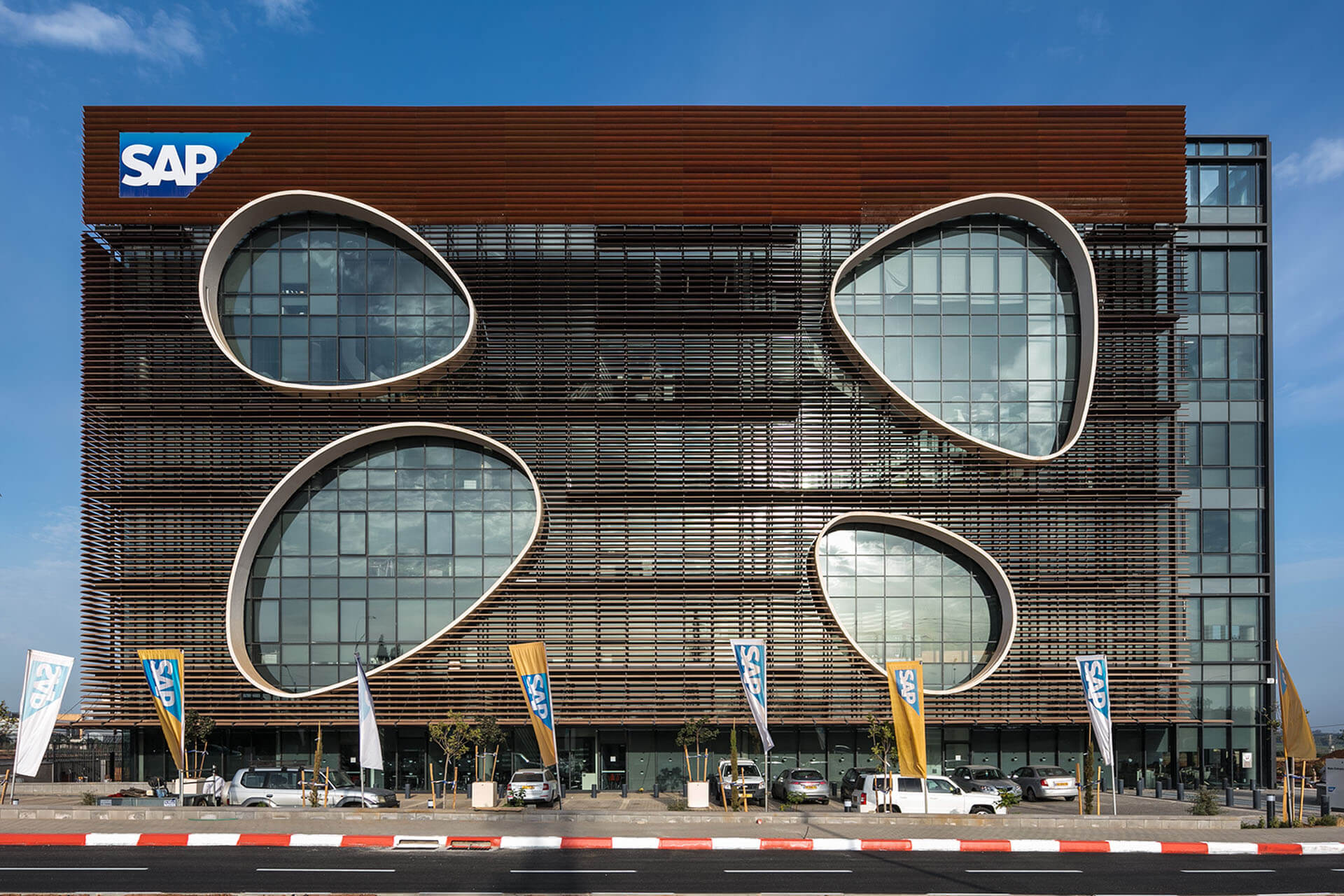 Sap Headquarters Yashar Architects Gorgeous SAP Headquarters YASHAR 8543 6